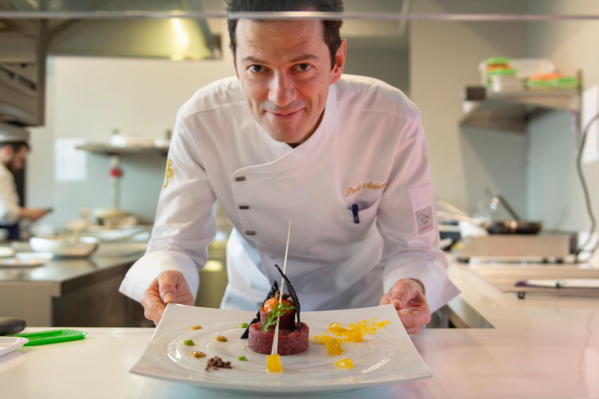 Lo chef Paolo Antinori