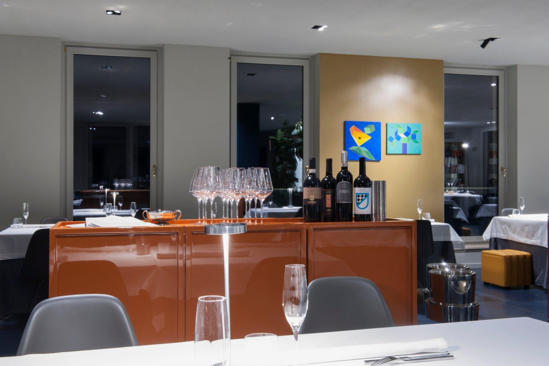 Sala del Ginevra Restaurant