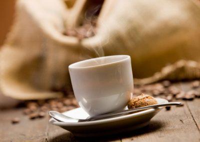 Il profumo di un buon caffè