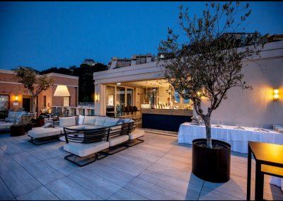 Il Roof Garden del Ginevra